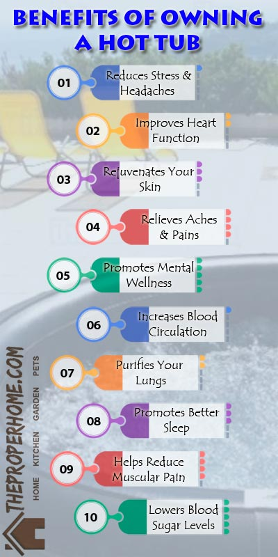 Health Benefits of Soaking in a Hot Tub