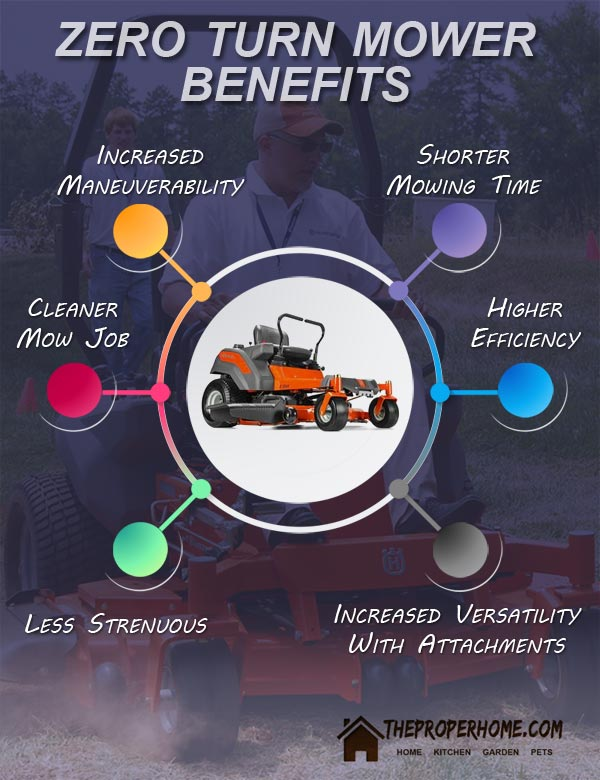 zero turn mower advantages and benefits