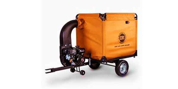 pull behind lawn vacuum